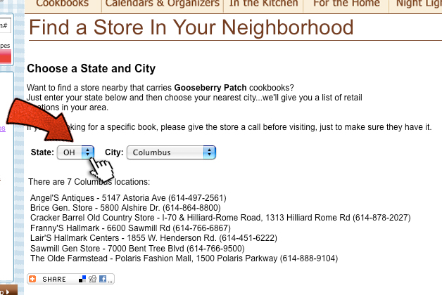 Find a Store in Your Neighborhood!