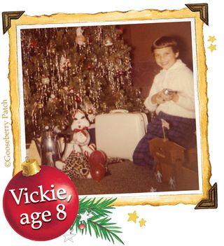Vickie, age 8