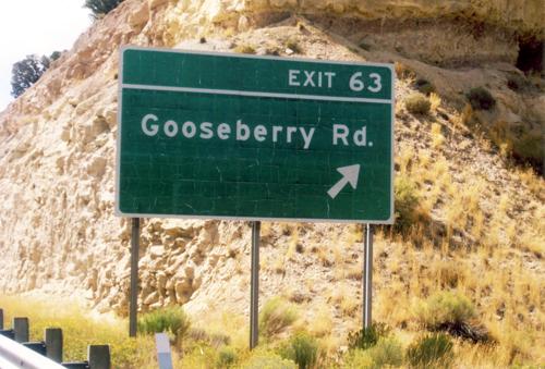 Gooseberry Road