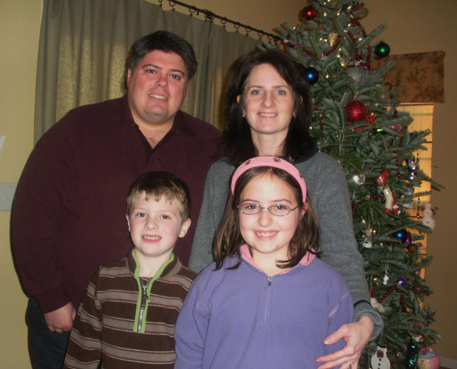 Here's the family at the holidays!