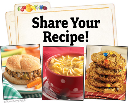 Share Your Recipe!