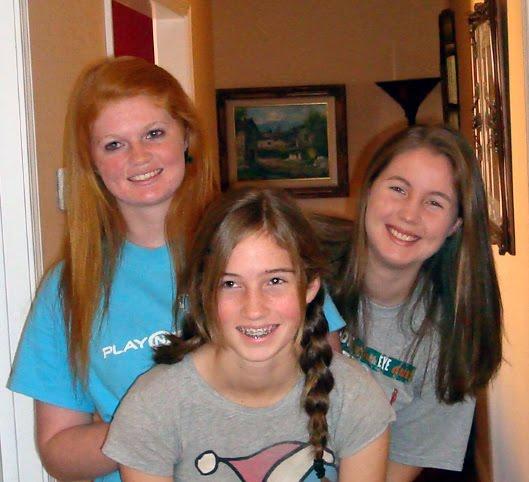 Julie's three daughters