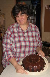 Kristin's mom, Dolly
