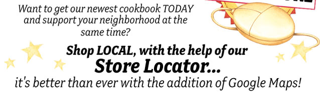 Visit our Store Locator!