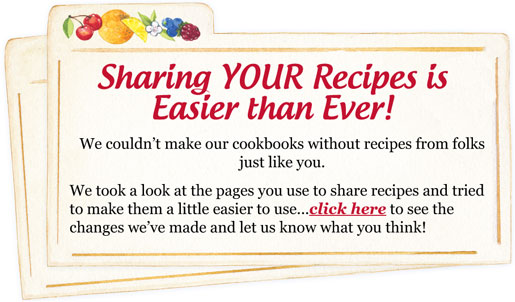 Share YOUR Recipes!