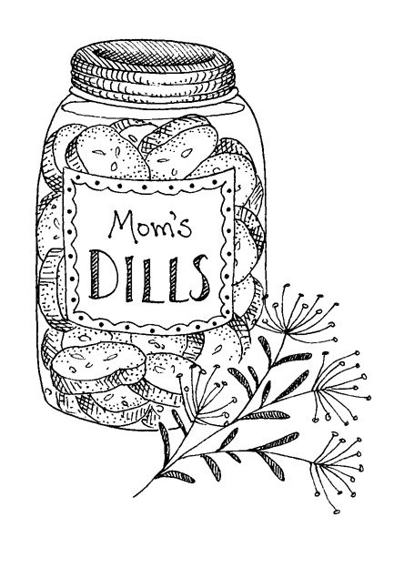 coloring pages of pickles - tips for shopping the farmers 39 market gooseberry patch
