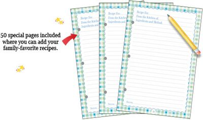 50 special pages to personalize!