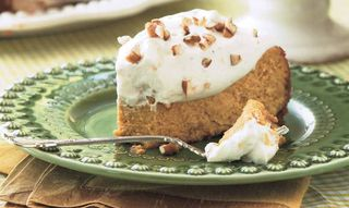 Pumpkin Cheesecake...yum!