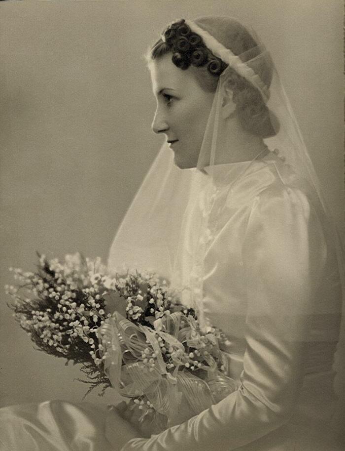 Grandma Velda on her wedding day in 1937!