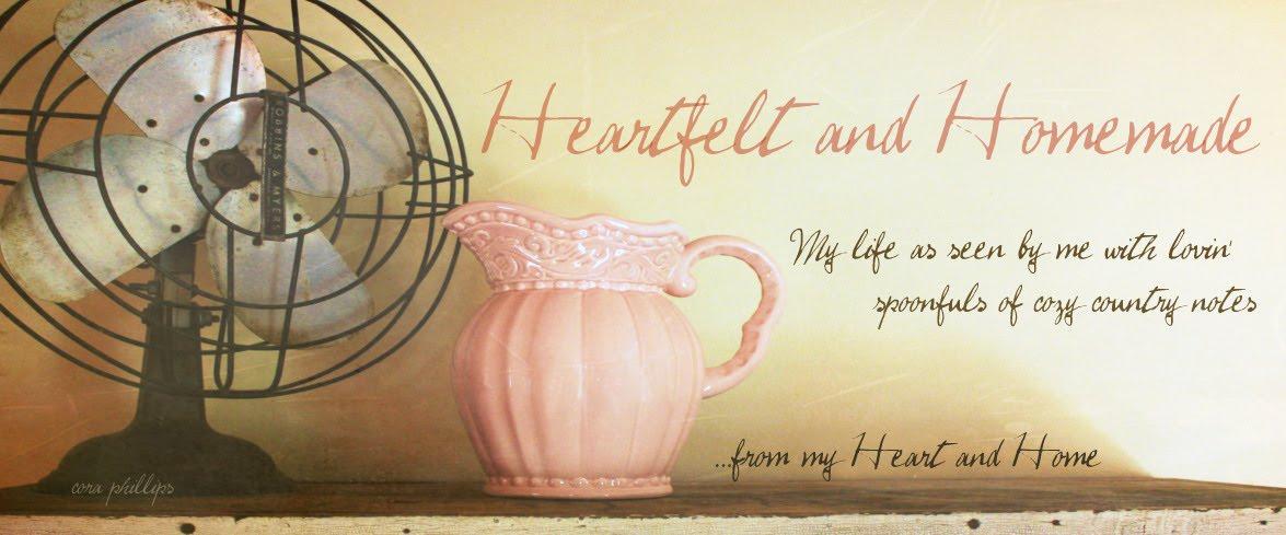 Visit Heartfelt and Homemade!