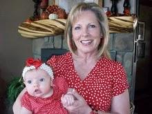 Julie holding baby Ella!