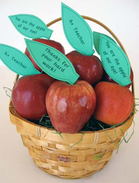 Apples for teacher!