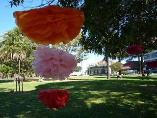 Paperflowersinpark