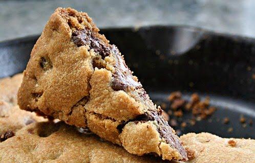 Yum...skillet cookie!