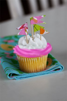 Cupcake flags!