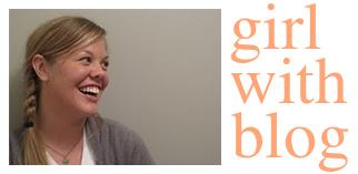 Girl with Blog