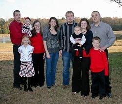 Tina's beautiful family!