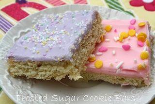 Sugarcookiebars
