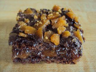 Caramel brownies 026