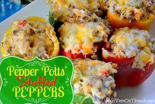 Pepper Potts Stuffed Peppers