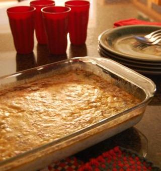 Holiday breakfast casserole 1