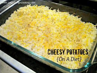 Skinny cheesy potatoes 100