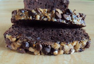 Double chocolate toffee bread 001