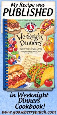 IWasPublished_WeeknightDinners