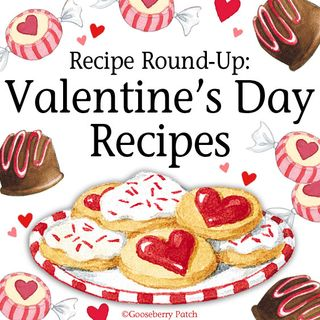 Share your Valentine's Day favorites in this Recipe Round-Up hosted by Gooseberry Patch
