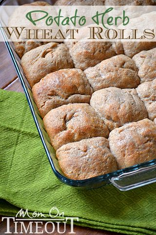 Potato-herb-wheat-rolls-recipe-easy-yummy