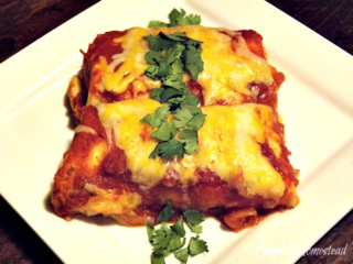Beef Enchiladas from Angel's Homestead | Cinco de Mayo Recipe Round-Up | Gooseberry Patch