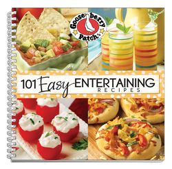 101 Easy Entertaining Recipes | Gooseberry Patch cookbook