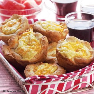 Jumbo Quiche Muffin Recipe   Quick Back to School Breakfast from Gooseberry Patch