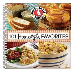 101 Homestyle Favorites cookbook from Gooseberry Patch