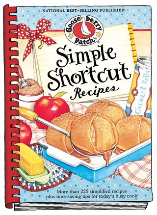 Simple Shortcut Recipes cookbook from Gooseberry Patch | Get the eBook for just 99 cents!