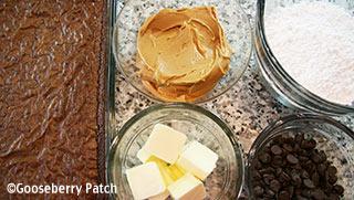 Ingredients to make Buckeye Brownies   Gooseberry Patch
