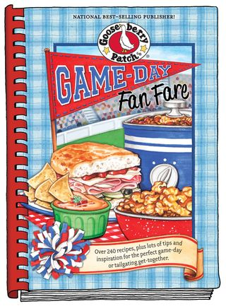Game Day Fan Fare cookbook from Gooseberry Patch | Click for FREE Recipe: Healthy Jalapeno Poppers