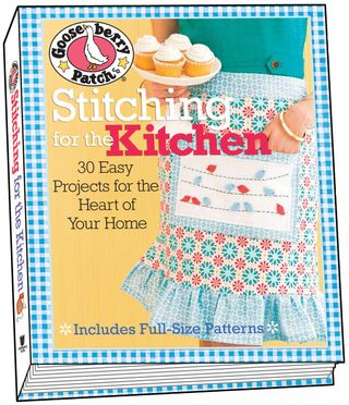 Free Project and Giveaway! | Gooseberry Patch Stitching for the Kitchen