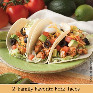 Family Favorite Pork Tacos | Recipe from 101 Stovetop Suppers | Gooseberry Patch