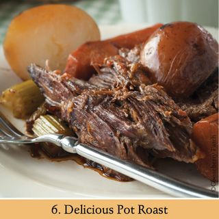 Delicious Pot Roast   Recipe from 101 Stovetop Suppers   Gooseberry Patch
