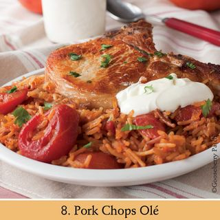 Pork Chops Olé | Recipe from 101 Stovetop Suppers | Gooseberry Patch