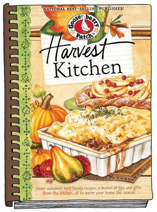 Harvest Kitchen full-size cookbook - now $1.99 from Gooseberry Patch