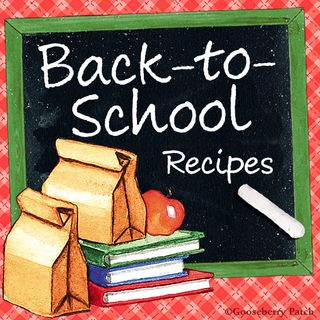 Link up your Back to School Recipes | Gooseberry Patch Recipe Round Up