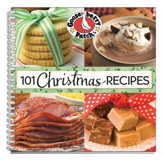 Gooseberry Patch 101 Christmas Recipes Cookbook