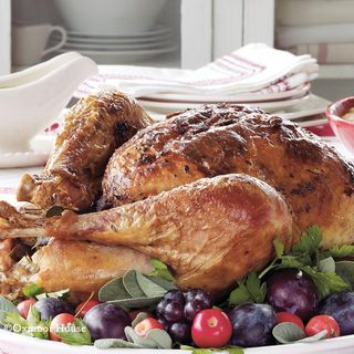 Gooseberry Patch Roast Turkey with Sage Butter Recipe
