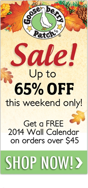 Thanksgiving Sale - going on now at Gooseberry Patch!