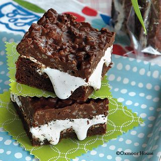 Gooseberry Patch Chocolate Crunch Brownies Recipe