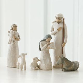 Willow Tree Nativity Set brought to you by Gooseberry Patch