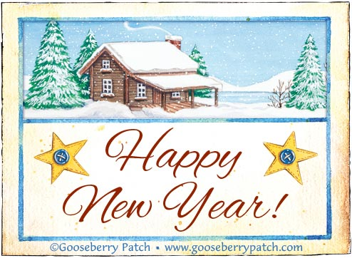 Happy New Year from Gooseberry Patch!