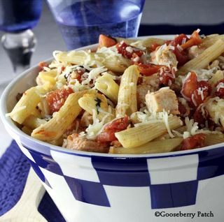 Gooseberry Patch Tomato & Chicken Penne Recipe
